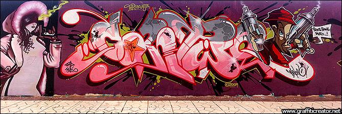 Featured Graffiti Artist: www.graffiticreator.net/htm/gallery/artists/c/can2.htm